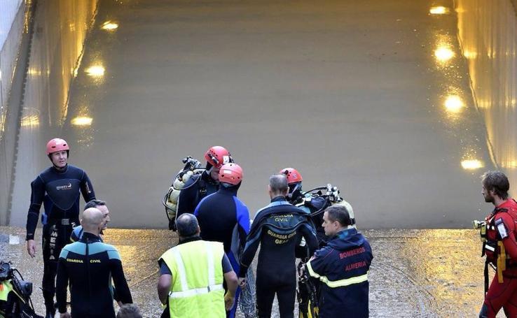 El temporal de Almería en imágenes