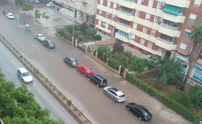 La alerta por lluvias se eleva a naranja en parte de la provincia