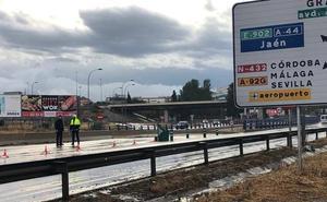 Granada capital recupera la normalidad en la circulación