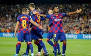 El Camp Nou le sienta bien al Barça