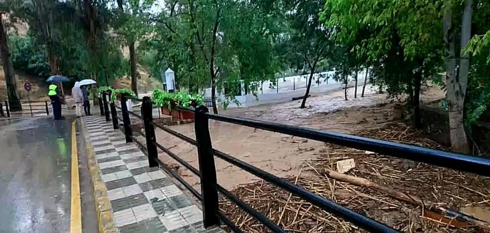 Riofrío y Santa Bárbara, en Loja, reviven la crecida de sus ríos al año de la devastadora riada