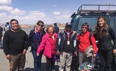Las granadinas atrapadas en Bolivia logran escapar de la huelga