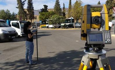 Inician el estudio topográfico para el 'parking' disuasorio de La Salobreja
