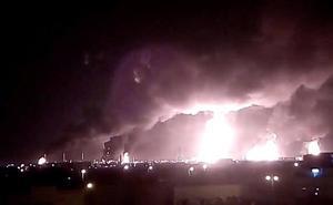 La mayor petrolera del mundo opera al 50% por un ataque hutí con drones en Arabia Saudí