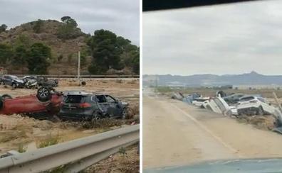 El impresionante vídeo de los efectos del temporal tras su paso por Orihuela (Alicante)