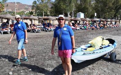 Clubes de pesca en Kayak retiran kilos de basura de las playas de El Tesorrillo y El Pozuelo