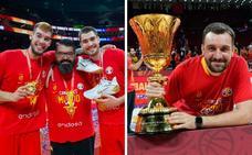 Los granadinos que también han ganado el Mundial de Baloncesto: «Pasarán días y seguiremos en una nube»