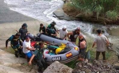 La Guardia Civil sigue con menos medios la búsqueda de la desaparecida de Quesada con la sospecha de que pudo caer al río