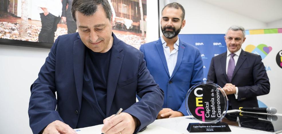 Josep Roca alaba las bondades gastronómicas de Almería