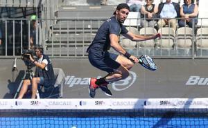 Javi Ruiz se impone en la primera ronda del Máster de Cascais