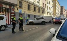 Un bebé de dos meses, herido en la cabeza tras caerle encima parte de una cornisa en Granada