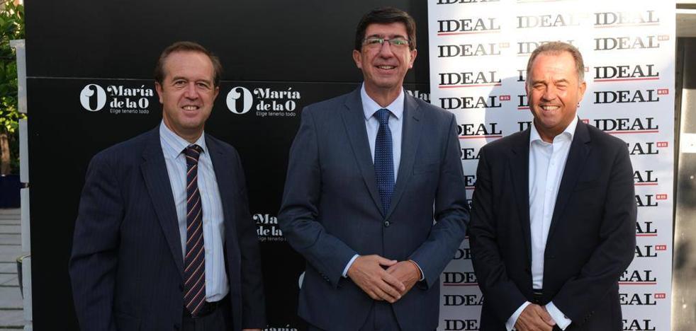 Juan Marín: «En los presupuestos de 2020 tenemos proyectos para Granada»