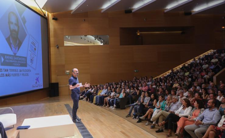 Así ha sido el encuentro con Rafael Santandreu en Granada