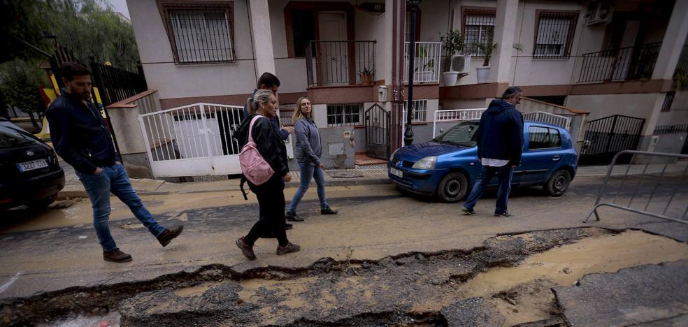 Granada estima en 4,7 millones de euros sus daños del temporal en 31 pueblos