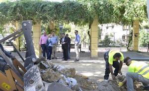 Comienzan las obras de remodelación de la plaza de la Concordia