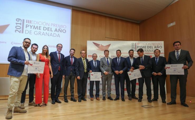Las mejores imágenes del premio Pyme 2019 de Granada