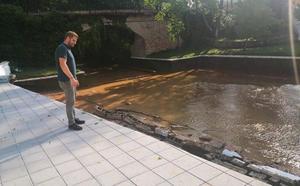 Cinco días después de las tormentas: 800.000 euros para reparar los daños