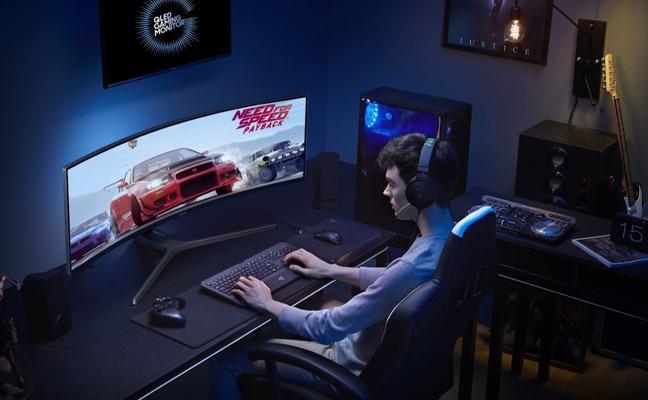 Monitores panorámicos, el sueño de cualquier 'gamer'