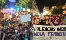 Dos luchas sociales llenan el Centro