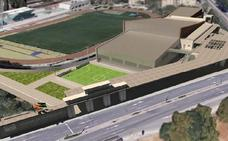 La segunda fase del Estadio de la Juventud de Granada tendrá dos nuevos edificios y pistas deportivas exteriores