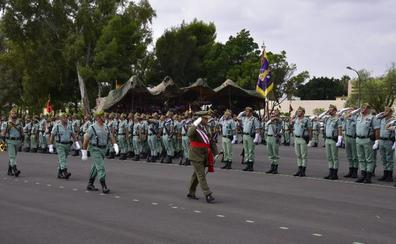 La Legión sopla sus primeras 99 velas