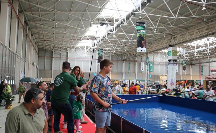 El público familiar predomina en la segunda jornada de la XIII edición de Ibercaza