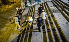 Granada refuerza con el inicio del curso la vigilancia para evitar botellones
