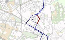 La línea N5 de autobús urbano de Granada cambia su recorrido por obras
