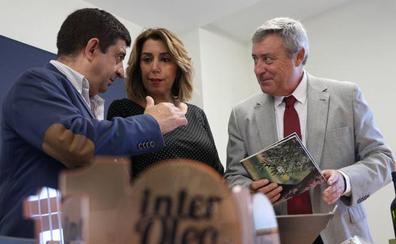 Susana Díaz defiende precios justos para el aceite de oliva