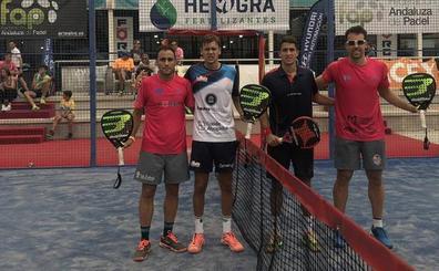El torneo Herogra corona a los sevillanos Pérez y Jurado como ganadores