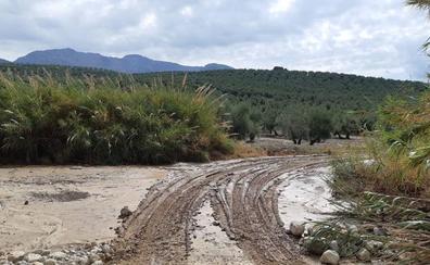 Actúan en medio centenar de vías afectadas por el temporal, desde Úbeda a Lopera, Mengíbar o Mancha Real