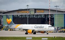 Alemania salva de la quiebra de Thomas Cook a la aerolínea Condor por seis meses