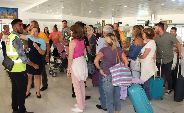 Las imágenes de los afectados en Almería por la quiebra de Thomas Cook