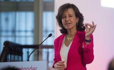 El Santander cae mínimamente en Bolsa tras dotar pérdidas de 1.500 millones en Reino Unido