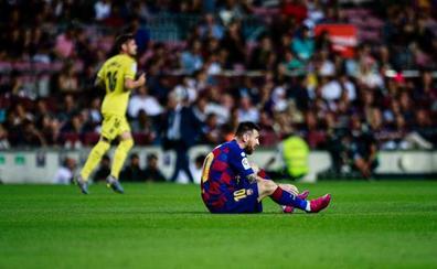 Messi acusa la falta de pretemporada