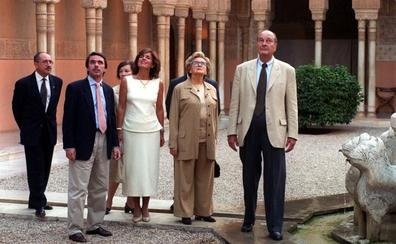 Chirac vio atardecer en la Alhambra