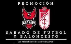 Coviran Granada y el Granada CF rebajan las entradas para sus abonados para los partidos del sábado
