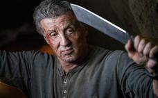 Stallone consigue las peores críticas de la saga 'Rambo'