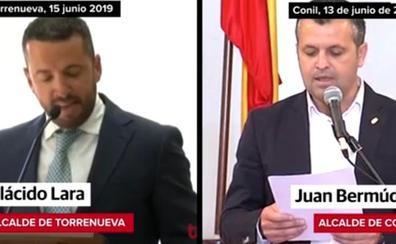 El alcalde de Torrenueva 'calca' su discurso de investidura de uno del regidor de Conil en 2015