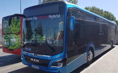 Transportes Rober prueba durante una semana un nuevo autobús híbrido