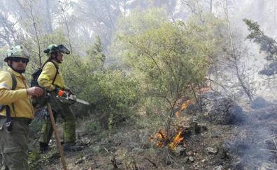 El verano acaba con sólo 'medio campo de fútbol' de árboles quemado en toda la provincia