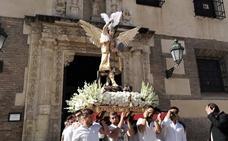 San Miguel Arcángel subió al Aceituno