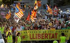 El independentismo calienta motores el 1-O para la gran movilización de la sentencia