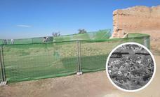 Derriban un tramo de la muralla en San Miguel para restaurarla