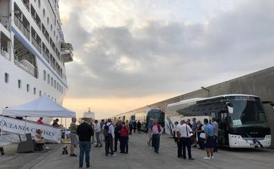 El 50% de los pasajeros que llegan en crucero al puerto de Motril son estadounidenses