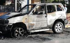 Le queman el coche a una misma familia en Albolote por segunda vez