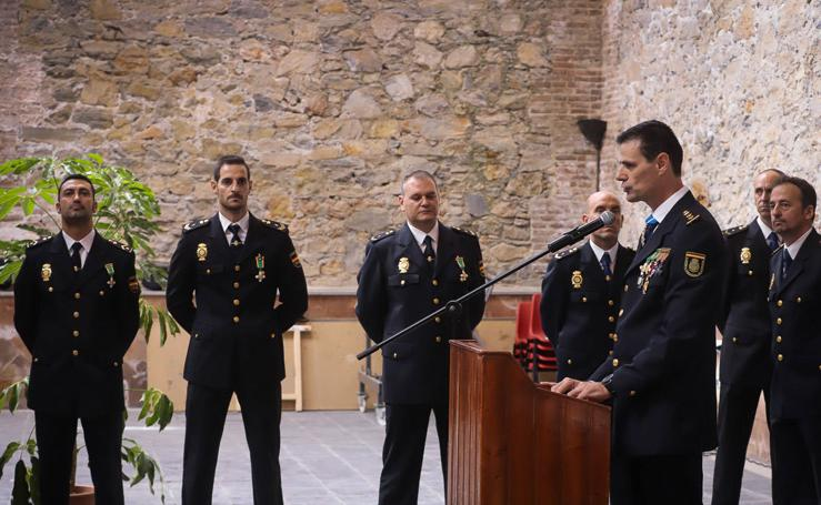 Motril celebra el día del patrón de la Policía Nacional