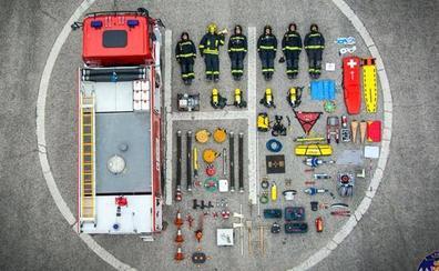 El 'tetris challenge', el reto al que se suman los equipos de emergencia de Jaén pareciendo 'juguetes'