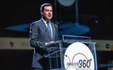 Moreno ofrece respaldo institucional a la gastronomía andaluza como fuente de salud y riqueza