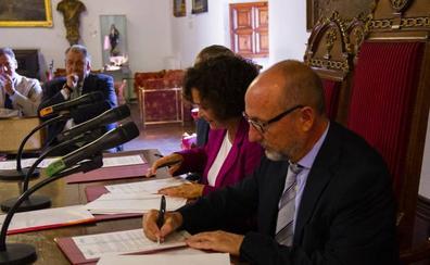 La UGR presenta la creación de dos nuevas cátedras en colaboración con Agesport y la empresa Ebone